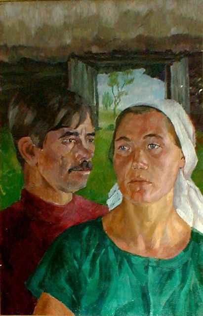 Александр Сегал. Муж и жена